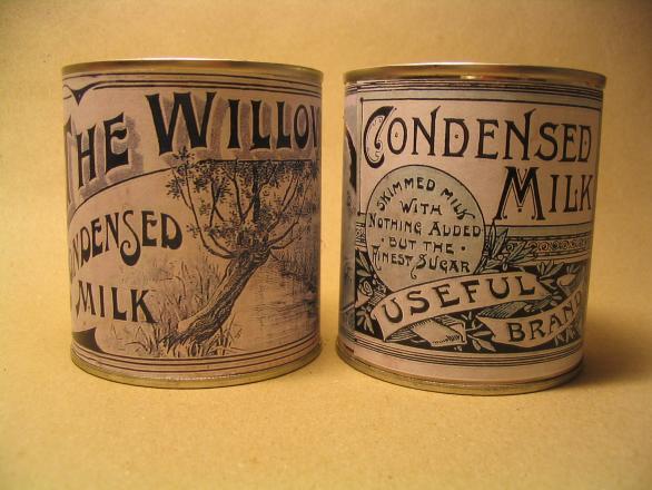 WW1 Two Condensed Milk labels, 1914. : WW1 Soldier ...